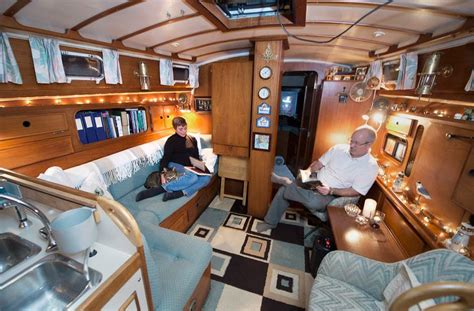 how to live on a boat full time eccentric live aboards choose to live on their boats