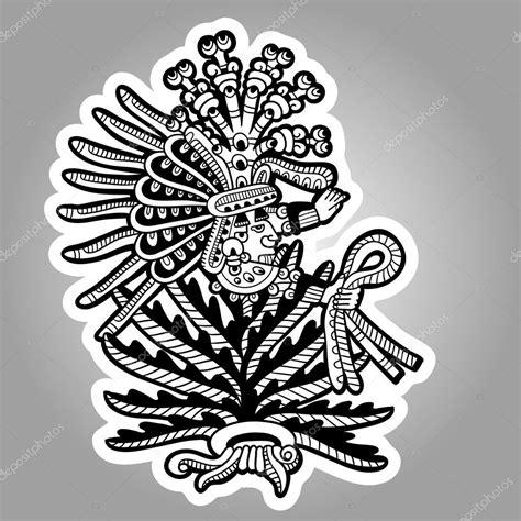 imagenes de aztecas blanco y negro persona imagen en blanco y negro de los mayas dise 241 os