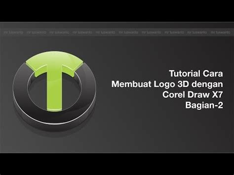 tutorial membuat x banner dengan coreldraw full download tutorial logo 3d dengan corel draw x7