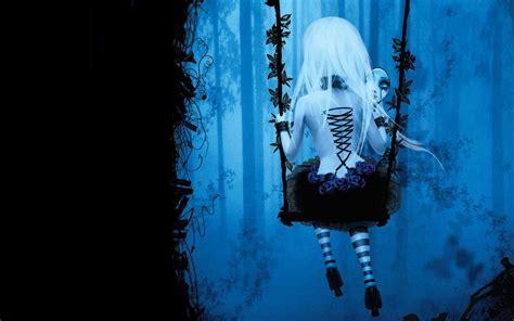wallpaper dark girl dark anime girl wallpaper wallpapersafari