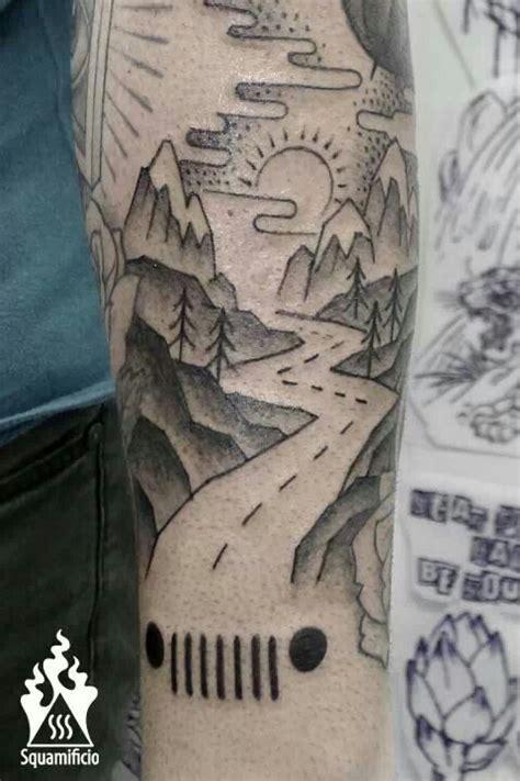 road tattoo road trip road trip travel