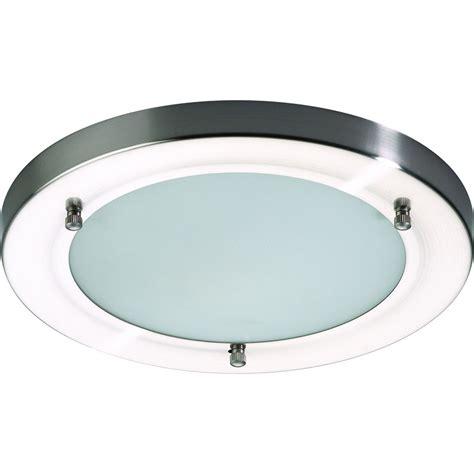 Glass Bathroom Lights Mistral Ip44 G9 Led Satin Nickel Glass Bathroom Light 2