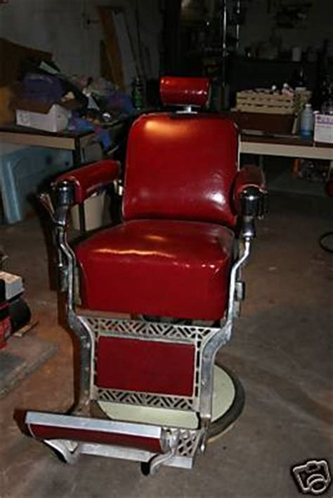 1950 Barber Chairs Sale by Belmont Barber Chair Circa 1950s Includes Kid Booster