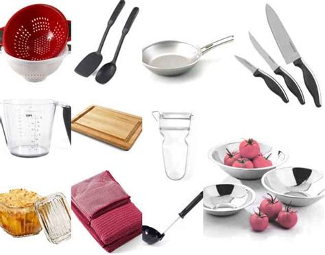 kitchen essential cooking equipment list interior design decor
