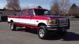 1997 Ford F350 Crew Cab Diesel For Sale 1997 Ford F350 Crew Cab Xlt 4x4 7 3 Powerstroke Turbo