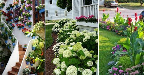 como decorar jardines frontales ideas para decorar jardines frontales plantas
