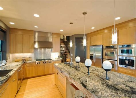 Granite Countertops With Light Wood Cabinets by Pictures Of Kitchens Modern Light Wood Kitchen