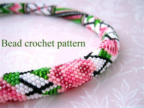 bead crochet tutorial bead crochet pattern pdf tutorial pattern crochet