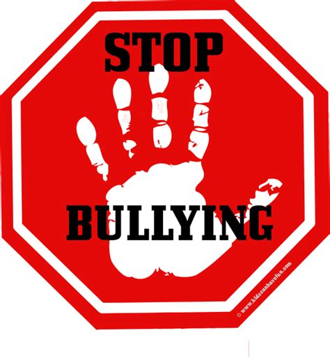 design logo ks2 hand on stop sign with stop bullying letters cool ideas