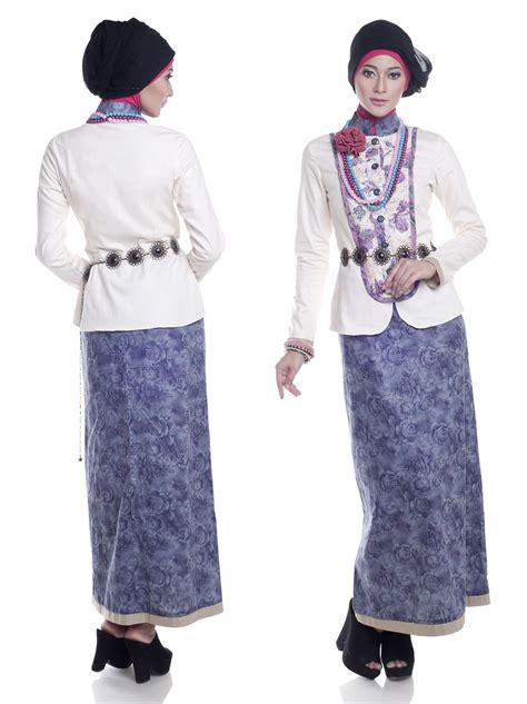 Setelan Wanita Natal tren model baju batik muslim wanita terbaru 2016 info tren baju terbaru di indonesia