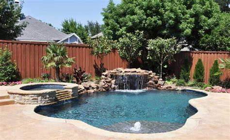 Backyard Pools Rockwall Dallas Pool Design Rockwall Custom Pool Builders