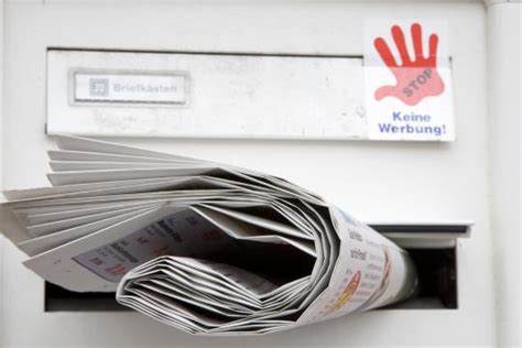 Aufkleber Päckchen Deutsche Post by Postwurfsendung Post Muss 2000 Euro F 252 R Ungewollte
