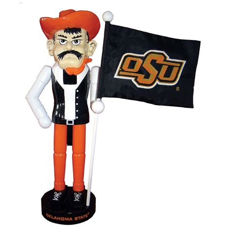santa s workshop 12 in ok state mascot nutcracker with