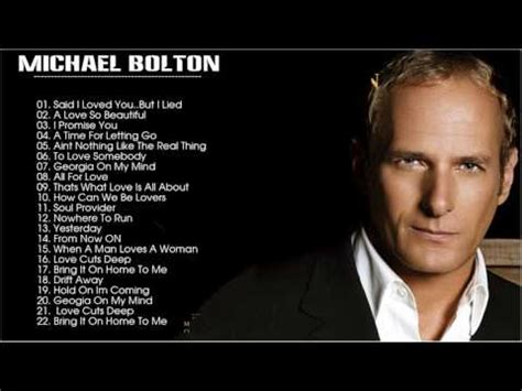 michael bolton the best of best of michael bolton michael bolton greatest hits