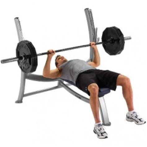 bench press with olympic bar cybex olympic bench press best gym equipment