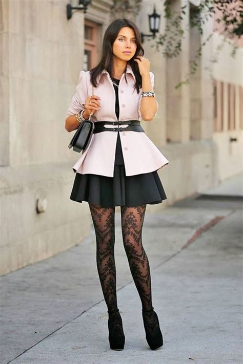 Paket Fashion Styles Brown picture of how to wear tights like a fashionista trendy 16