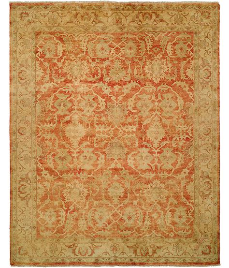 hri rugs oushak crown collection design b 260 rust gold hri rugs harounian rugs international