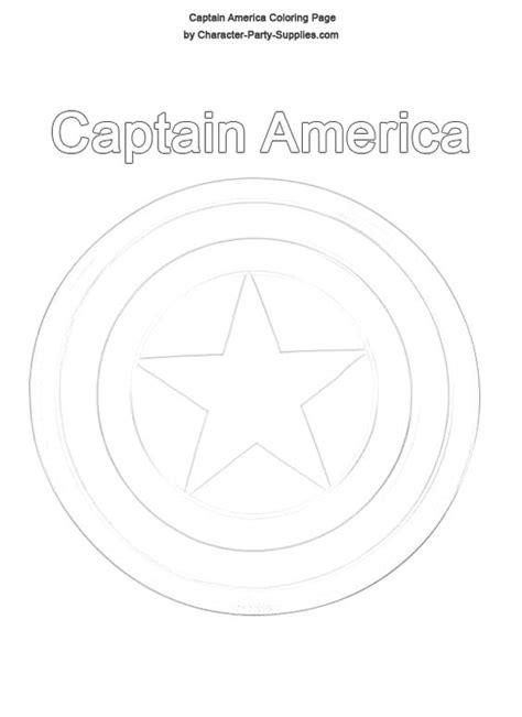 Captain America Shield Coloring Pages Captain America Captain America Shield Color
