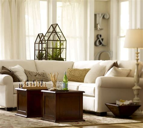 pottery barn livingroom pottery barn living room design pinterest