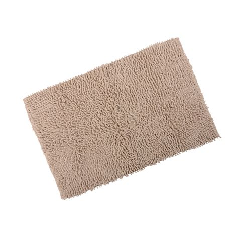 cotton bathroom rugs odyssey chenille cotton shower bath mat soft washable