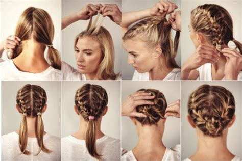 How To Do Two French Braids Wit Weave | try a new race day do with a double french braid women