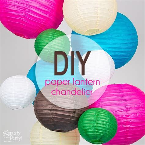 How To Make A Paper Lantern - best 25 paper lantern chandelier ideas on