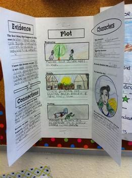 tri fold book report common based trifold book report by doodler