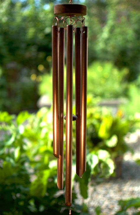 Handcrafted Wind Chimes - copper wind chime handcrafted windchimes beautiful