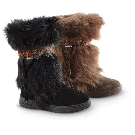 boots with the fur for s paw 174 kola ii goat fur boots 207232 casual