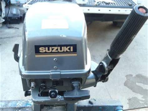 Suzuki 6hp Outboard For Sale Used Suzuki 6 Hp Outboard Motor For Sale Suzuki Boat Motors