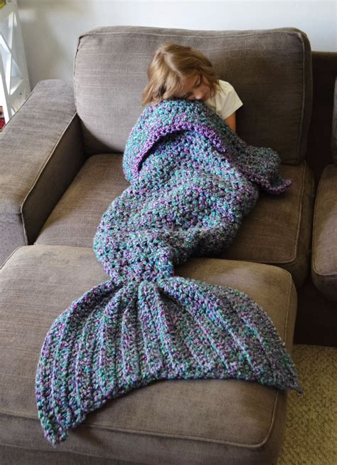 crochet pattern for mermaid tail crocheted mermaid tail blankets by melanie cbell