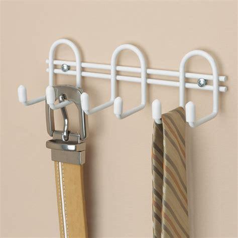 Closetmaid Hooks Closetmaid 6 Quot Wire Hook Organizer White Walmart