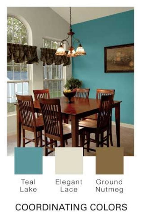 teal lake by glidden our new dining room color scheme it dining room