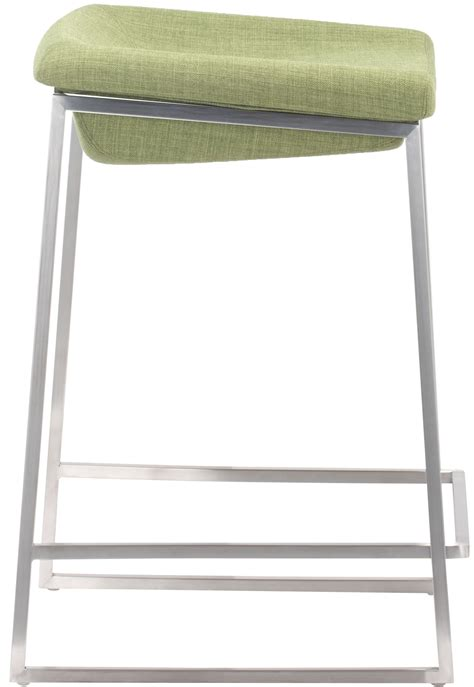 Greyish Green Stool by Zuo Lids Counter Stool Grey Or Green Zuo Counter Stool