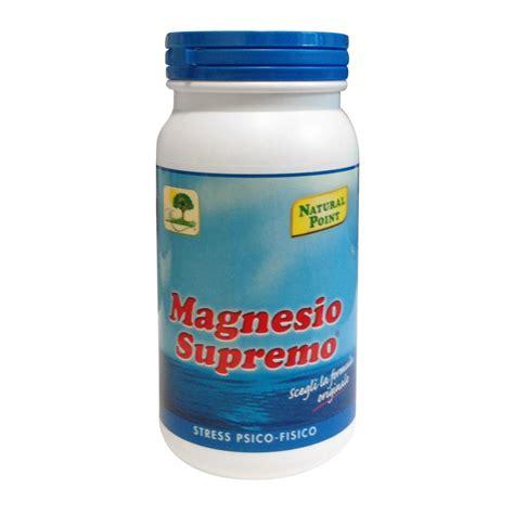 magnesia supremo magnesio supremo magnesio solubile contro stanchezza e