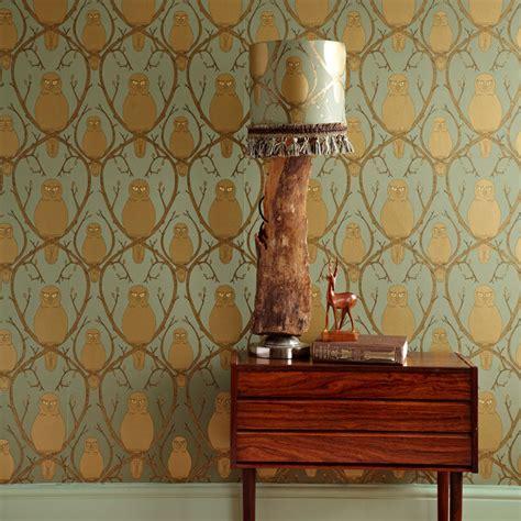 owl bedroom wallpaper behang met uilen inspiraties showhome nl
