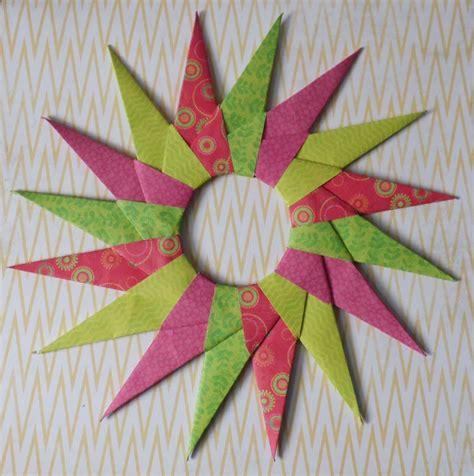 modular  point origami star