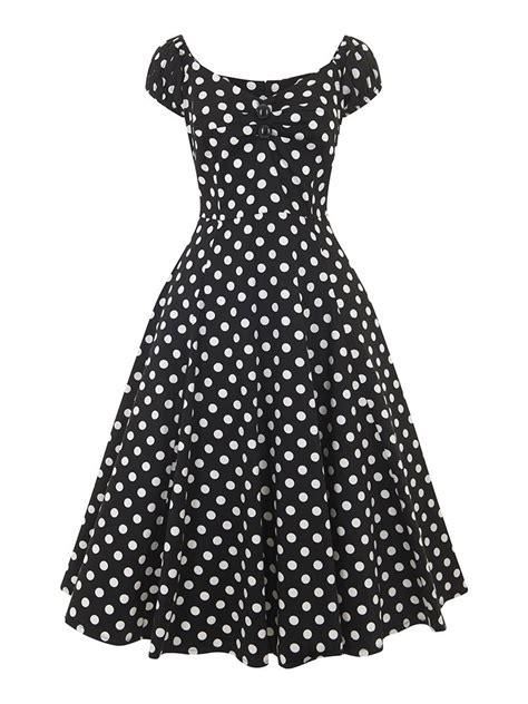 swing dress style vintage style dolores red polka dot swing dress vintage