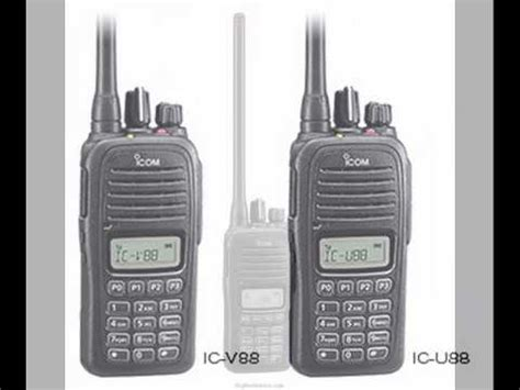 Ht Handy Talky Icom Ic V88 Vhf Grosir Murah Meriah Mewah jual ht icom ic v88 pusat jual handy talky ic u88