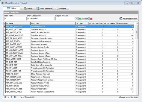 Peoplesoft Tables silwood technology oracle peoplesoft