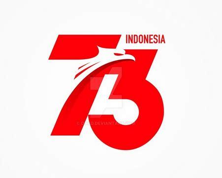 logo hut ri   hari kemerdekaan ri