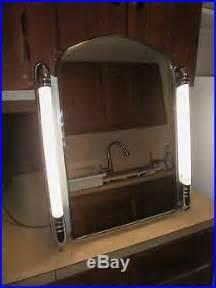 medicine cabinet with side lights vintage mid century deco recessed in wall medicine cabinet