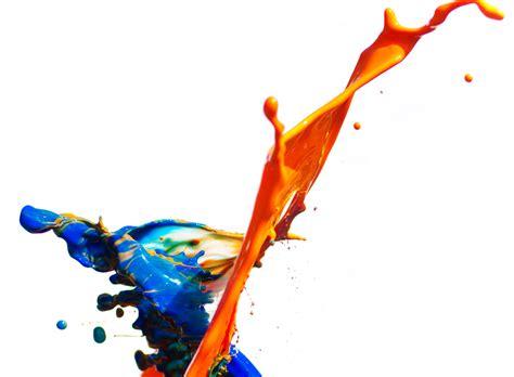 Yoyo Channel Lace paint splatter blue and orange