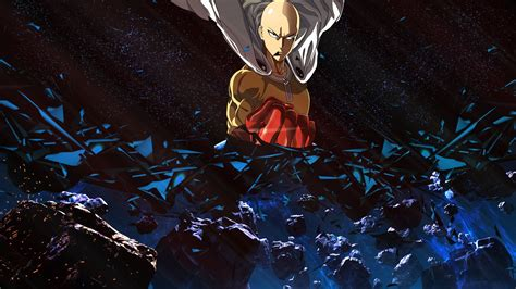Anime One by Anime One Punch Saitama Universe Space Power Suit