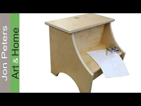 Build A Simple Stool by How To Build A Simple Step Stool Garnica Plywood Build