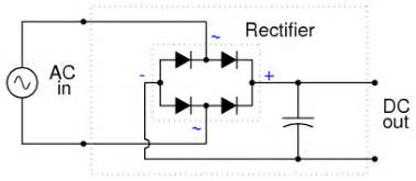 rectifier filter circuit discrete semiconductor circuits