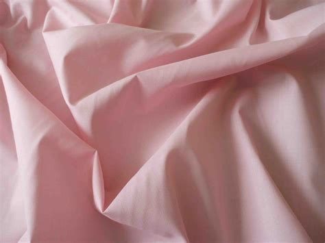 Pink poly cotton fabric