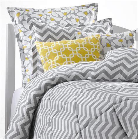 chevron bedding set college bedding dorm room bedding made in usa tagged