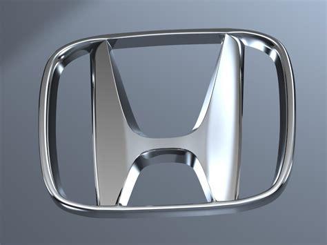 Emblem 3d Logo Sayap Honda Sepasang honda logo 3d model max obj 3ds fbx stl cgtrader