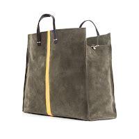 Tote Bag Simple Hijau Army anthropologie favorites handbags